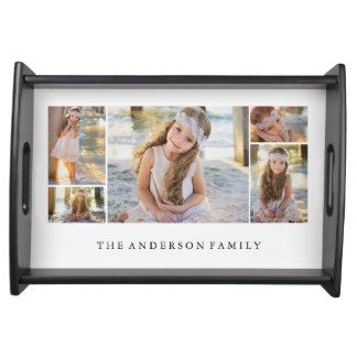 Family Photo Collage | Serving Tray