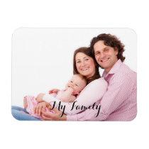 Family photo, custom magnet