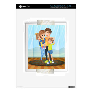 Family photo decal for iPad 3