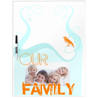 Family Photo Dry Erase To Do List Board
