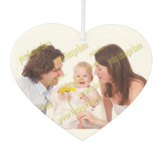 Family Photo Easy Budget Template Air Freshener