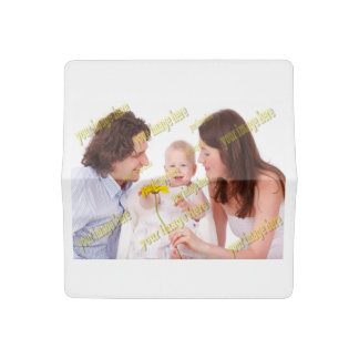 Family Photo Easy Budget Template Checkbook Cover