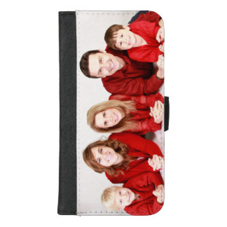 Family photo iPhone 8 wallet phone case