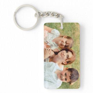 Family Photo Keepsake Keychain