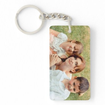 KaleenaRae Family Photo Keepsake Keychain