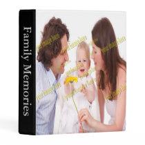 Family Photo Memories Create Your Own Mini Binder