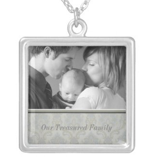 Family Photo Necklace necklace