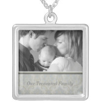 Family Photo Necklace