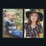 """Family Photo on iPad Mini Case with No Kickstand<br><div class=""""desc"""">Cute baby boy and pretty lady on this Family Photo on iPad Mini Case with No Kickstand with photo it your way. Add more than one photo if you like. Tile or rotate photos as well. Keep out any important part of your photo(s) from the bleeding areas around the edges....</div>"""