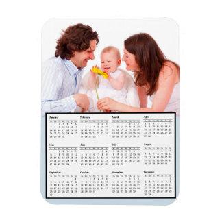 Family Photo Perosnalized 2018 Calendar Magnet