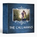 Family Photo Scrapbook Album•Celestial Blue Binder