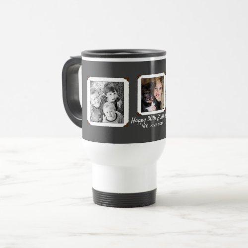 Family Photos Love Travel Mug Gift For Him
