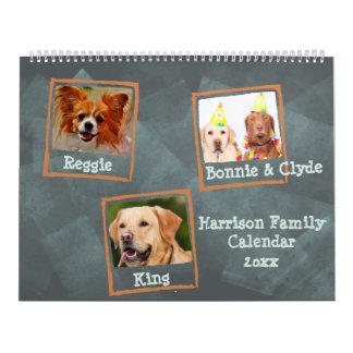 Family Photos or Pet Photos Calendar