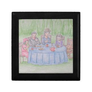 Family Picnic Jewelry Box