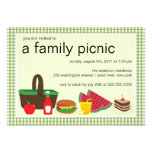 Family Picnic Summer BBQ Bash Party Invitation