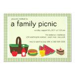 Family Picnic Summer BBQ Bash Party Invitation