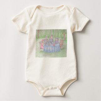 Family Picnicn Baby Bodysuit
