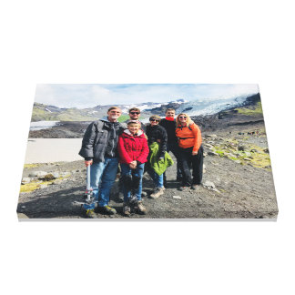Family Picture Canvas Print