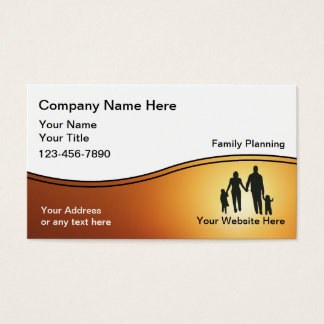 Family Planner Business Cards