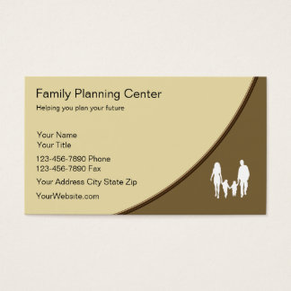 Family Planning Business Cards