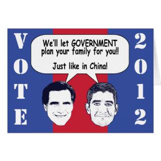 Family Planning - GOTV Mailer Cards