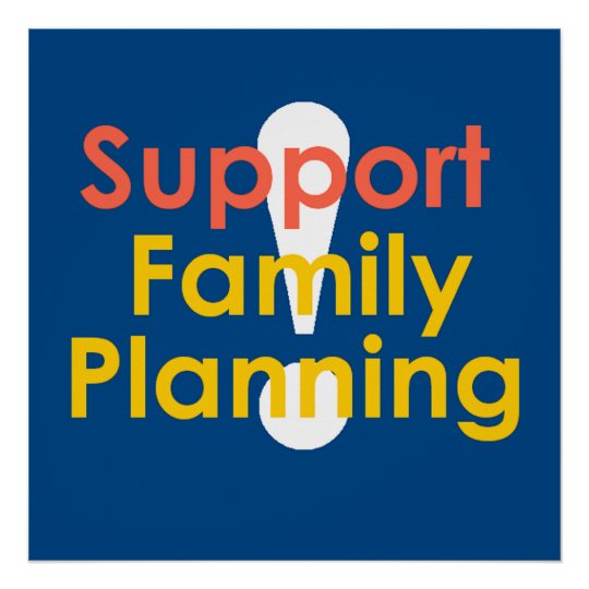Family Planning POSTER Print