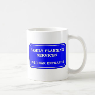 FAMILY PLANNING SERVICES CLASSIC WHITE COFFEE MUG