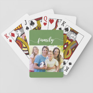 Family Playing Card Design