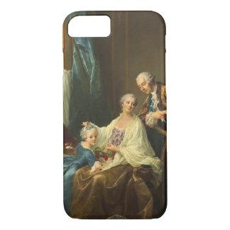 Family Portrait By François-Hubert Drouais iPhone 8/7 Case