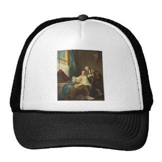 Family Portrait By François-Hubert Drouais Trucker Hat