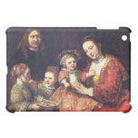 Family Portrait by Rembrandt Harmenszoon van Rijn Cover For The iPad Mini