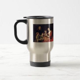 Family Portrait by Rembrandt Harmenszoon van Rijn Coffee Mugs