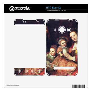 Family Portrait by Rembrandt Harmenszoon van Rijn Decals For The HTC Evo 4G