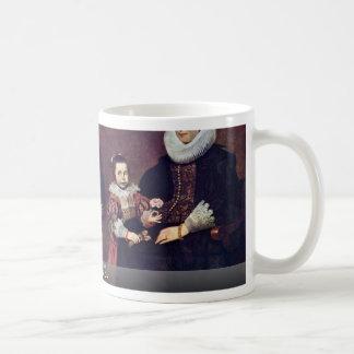Family Portrait By Vos Cornelis De Mug