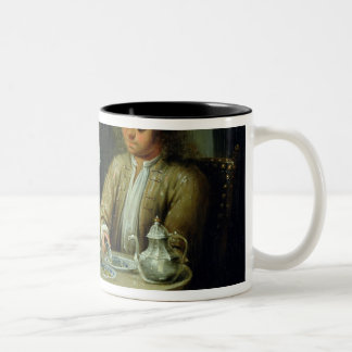 Family Portrait, c.1760 Two-Tone Coffee Mug