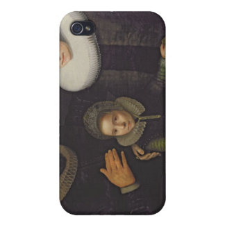 Family Portrait Cover For iPhone 4