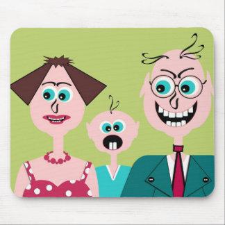 Family portrait mouse pad