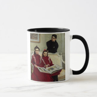 Family Portrait of a Boy and his Two Sisters, 1900 Mug