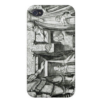 Family Portrait of Charles I Cover For iPhone 4