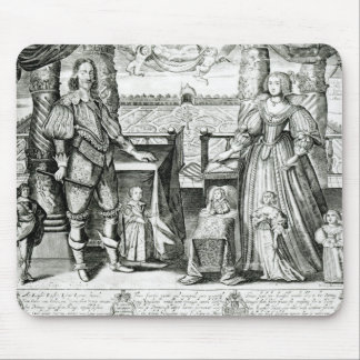 Family Portrait of Charles I Mouse Pad