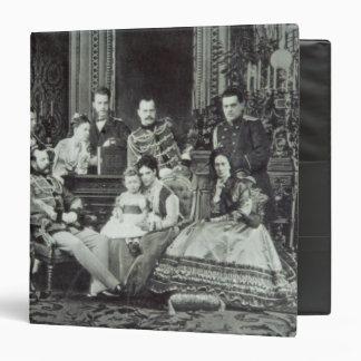 Family Portrait of Emperor Alexander II Binder