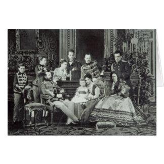 Family Portrait of Emperor Alexander II Cards