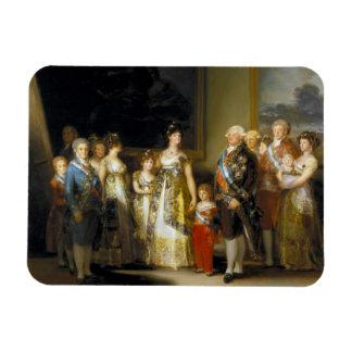 Family portrait of King Charles IVJose de Goya Rectangular Photo Magnet