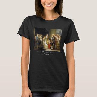 Family portrait of King Charles IVJose de Goya T-Shirt