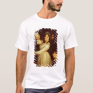 Family portrait of Madame Anthony and her children T-Shirt