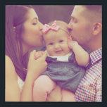 """Family Portrait Photo Print Square<br><div class=""""desc"""">Your photo on canvas,  multiple sizes available.</div>"""