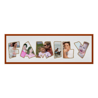 family portrait poster customizable FROM 8.99