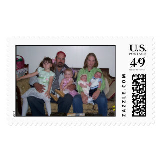 Family Portrait Stamps