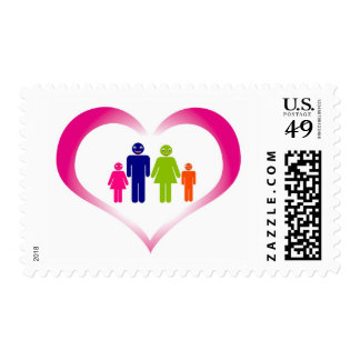 family postage stamp