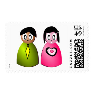 family postage stamps